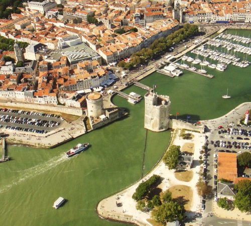 Photo de La Rochelle vue du ciel